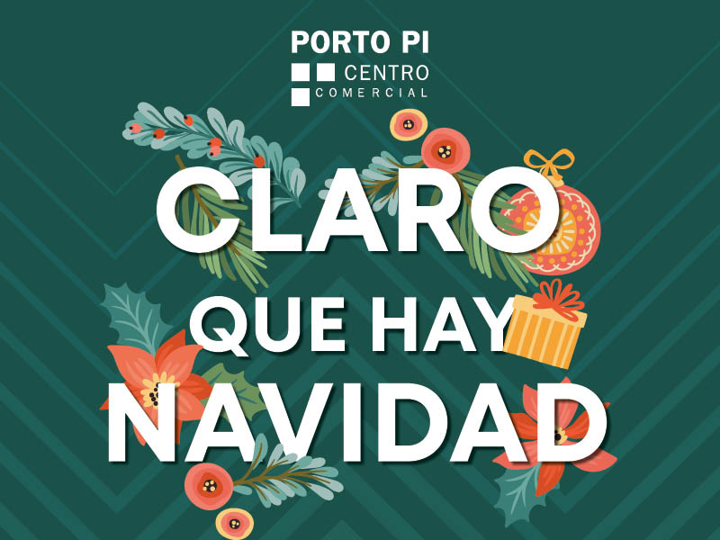 Papá Noel y los Reyes Magos en Porto Pi Centro